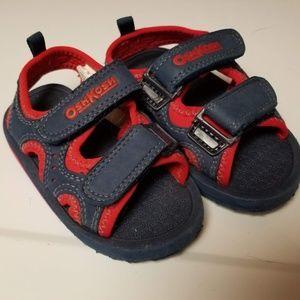 Oshkosh toddler summer velcro sandles sz 7